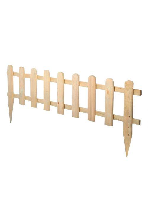 Mini letvena ograja (120 x 45 cm, macesen)