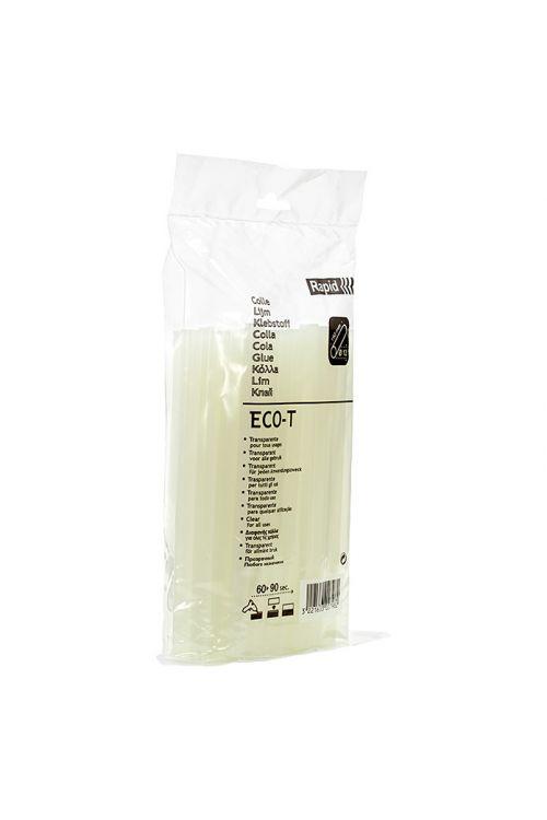 Lepilni vložki Rapid ECO-T (12 mm, prozorni, 500 g)