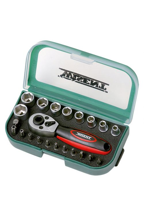 Komplet nasadnih ključev Wisent WPL 22 (¼″, 22-delni)