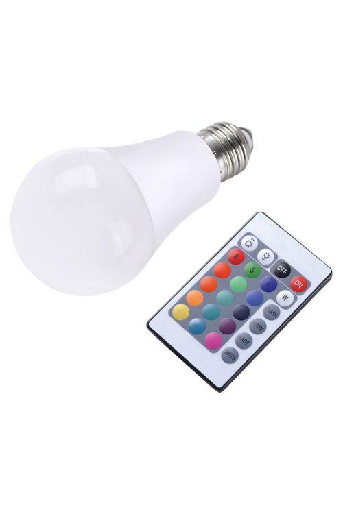 LED-sijalka s funkcijo menjavanja barv CLA RGB (7,5 W, 470 lm, 3000 K, barvno upravljanje RGB, E27, energetski razred: A)