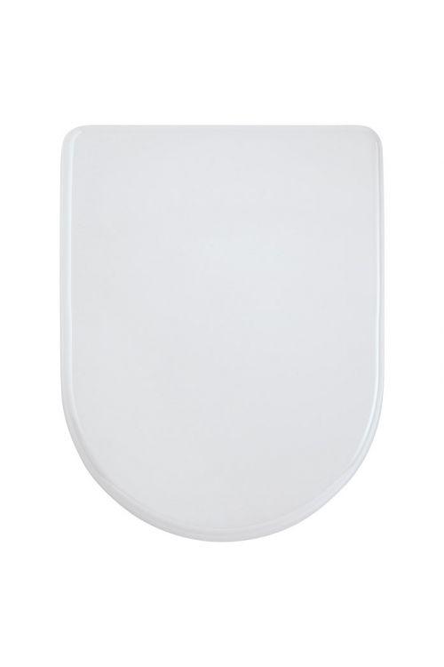 WC deska POSEIDON Valentina (duroplast, počasno spuščanje, snemljiva, bela)