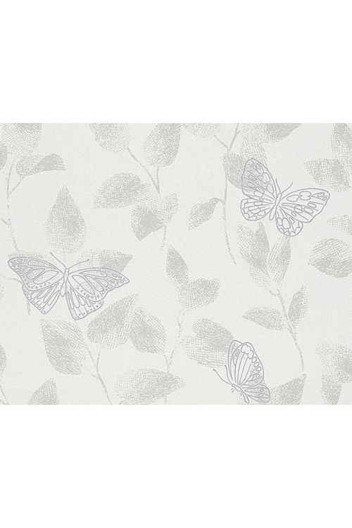 Tapeta iz netkane tekstilije Life 3 (črna/kovinska, uni, 10,05 x 0,53 m)