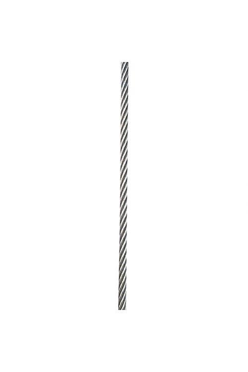 Žična vrv (2 mm, preplet 7 x 19, legirano jeklo, A4)
