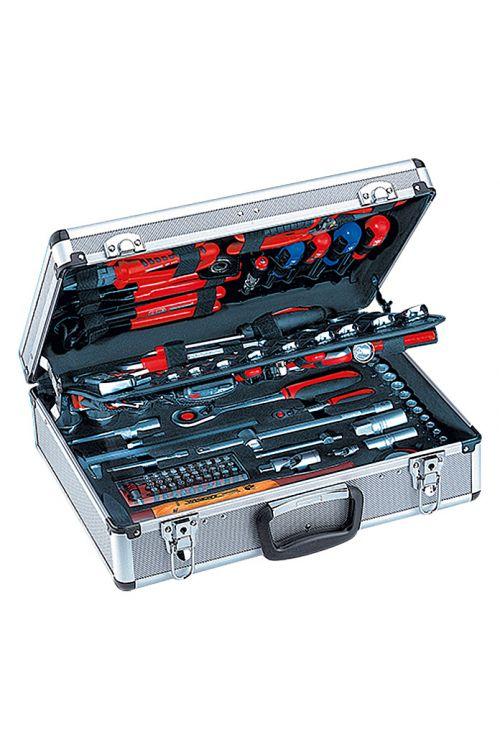 Kovček z orodjem Wisent (127-delni, ½ + ¼″)