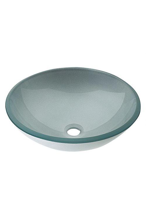 Umivalnik, Cameo (premer: 42 cm, steklo, srebrna)