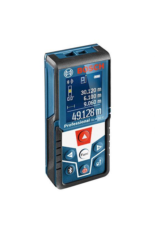 Digitalni laserski merilnik razdalj BOSCH Professional GLM 50 C (natančnost: ± 1,5mm, merilno območje: 0,05–50 m)