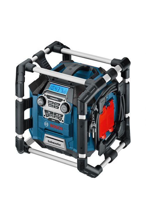 Akumulatorski radio BOSCH Professional GML 20 (vtičnica: 230 V, baterije: 14,4 V ali 18 V Bosch Professional, 87.5–108 Mhz (FM))