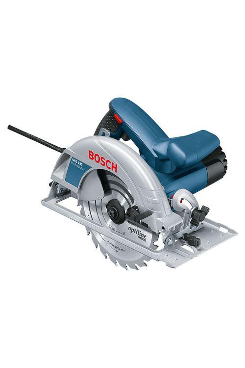 Ročna krožna žaga GKS 190, Bosch Professional (1.400 W, žagin list: Ø 190 mm, število vrtljajev v prostem teku: 5.500 vrt./min)