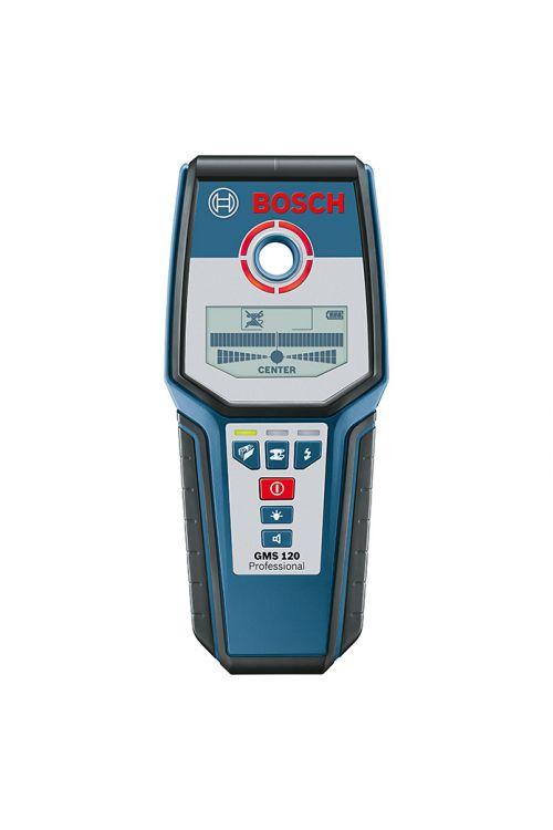 Lokator BOSCH Professional GMS 120 (globina zaznavanja: maks. 120 mm, trajanje delovanja: 5 h)