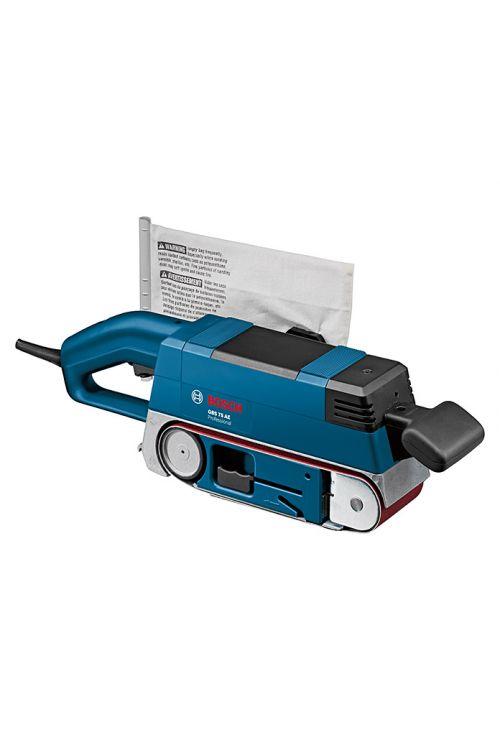 Tračni brusilnik BOSCH Professional GBS 75 AE (750 W, dimenzije traku 75 x 533 mm, hitrost traku: 200–330 m/min)