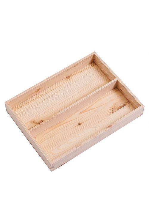 Vložek za nakladalni zaboj M in L (36 x 27 x 5 cm, iz lesa iglavcev)