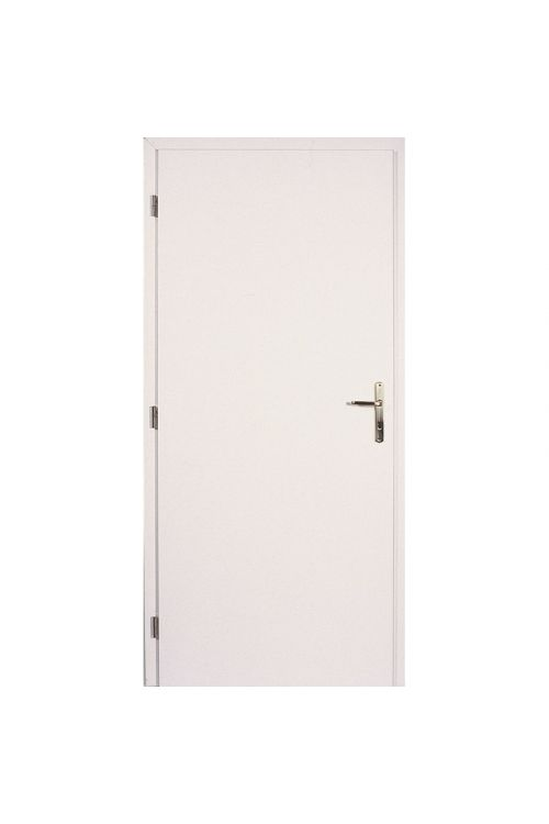 Notranja sobna vrata Masonite  (39 x 850 x 2000 mm, bela, leva)