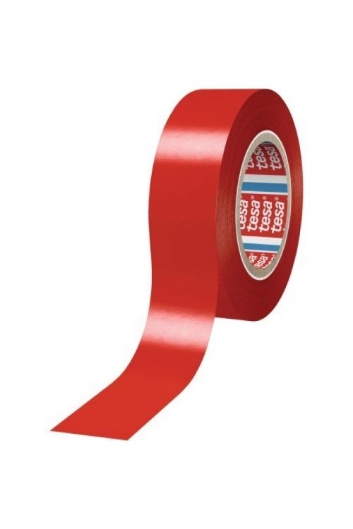 Elektro izolacijski trak Tesa (100 cm x 15 mm, rdeč)
