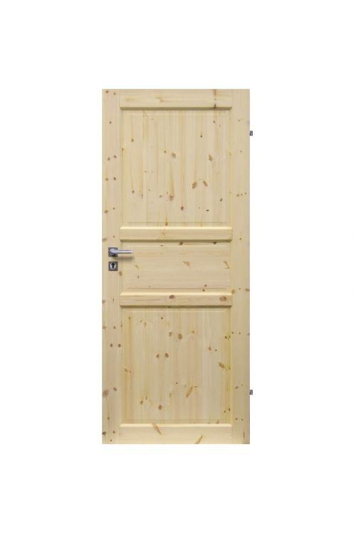 Notranja sobna vrata EUROLAM  (39 x 750 x 2000 mm, smreka, desna)
