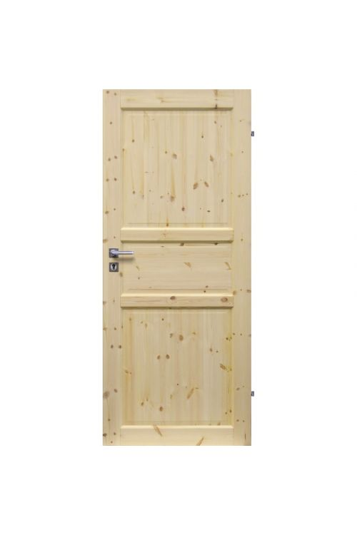 Notranja sobna vrata EUROLAM (39 x 650 x 2000 mm, smreka, desna)