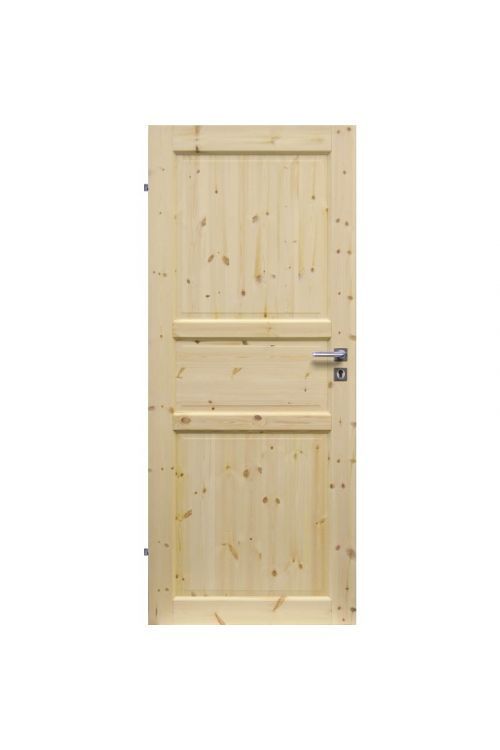 Notranja sobna vrata EUROLAM (39 x 750 x 2000 mm, smreka, leva)