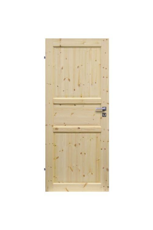 Notranja sobna vrata EUROLAM (39 x 650 x 2000 mm, smreka, leva)