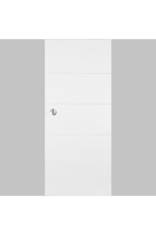 Drsna vrata Masonite Quatro (2000 x 950 mm, lesena, bela,JUS)