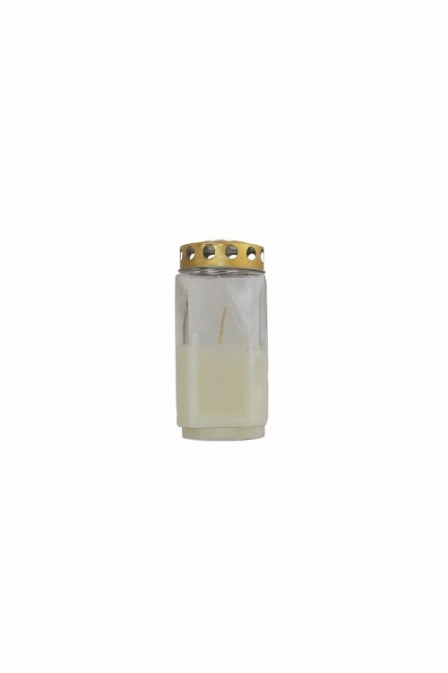 Parafinska sveča VELIKA (bela, kocka)