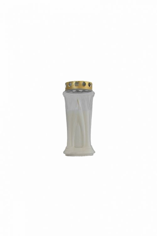 Parafinska sveča KRN (bela, srednja)