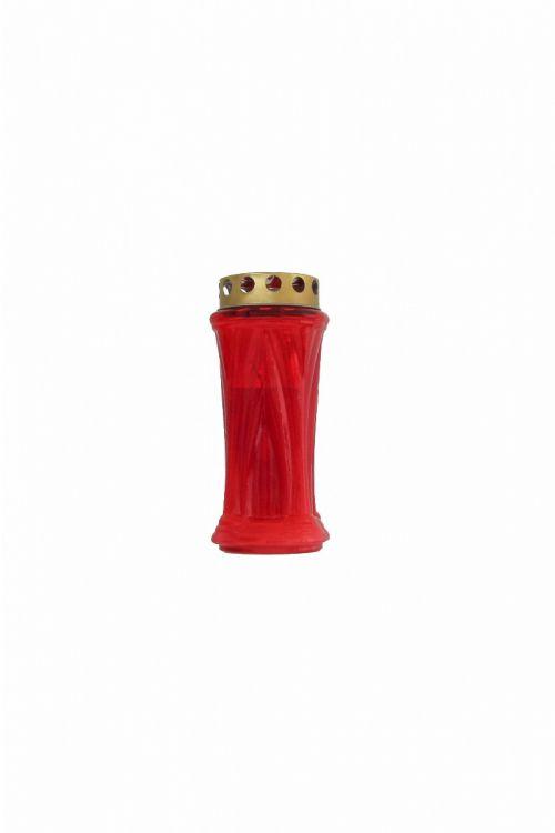 Parafinska sveča KRN (rdeča, srednja)