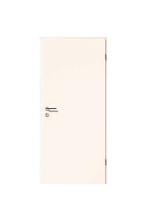 Notranja sobna vrata GetaDoor Laminit GL223 (850 mm x 2000 mm, bela, desna, s cilindrom in ključavnico, brez kljuke in podboja)