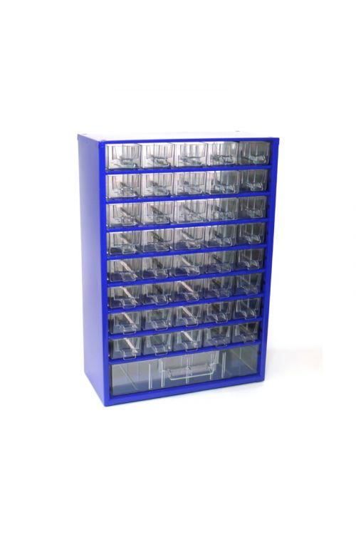 Sortirni predalnik za delavnico (41 predalnikov, moder)