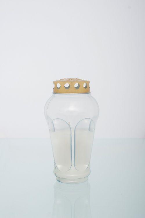 Parafinska sveča MOJCA (bela, srednja)