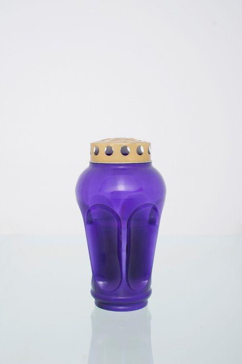 Parafinska sveča MOJCA (vijolična, srednja)