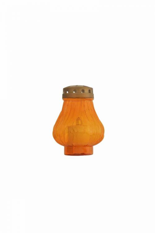 Eko elektronska sveča PLAMEN (60 dni, oranžna)