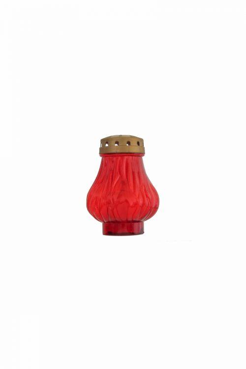 Eko elektronska sveča PLAMEN (60 dni, rdeča)