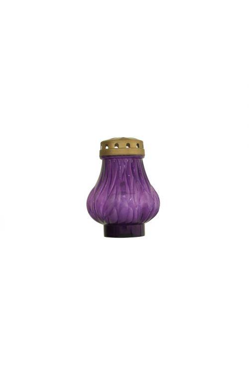 Eko elektronska sveča PLAMEN (60 dni, vijolična)