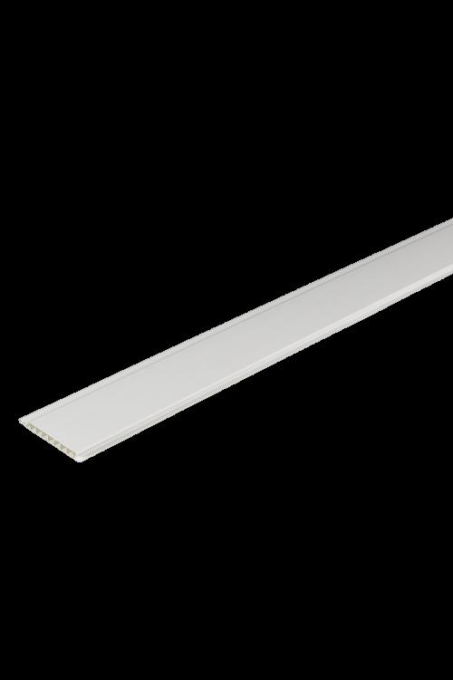 PVC paneli EXTRA PANEL (10 cm, 10 kosov pakiranje, barva: bela)