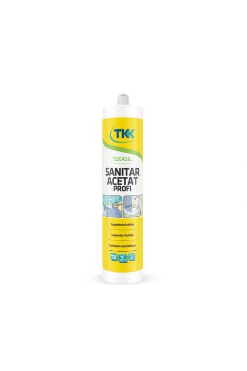 Sanitarna silikonska tesnilna masa Tekasil (kartuša 300 ml)