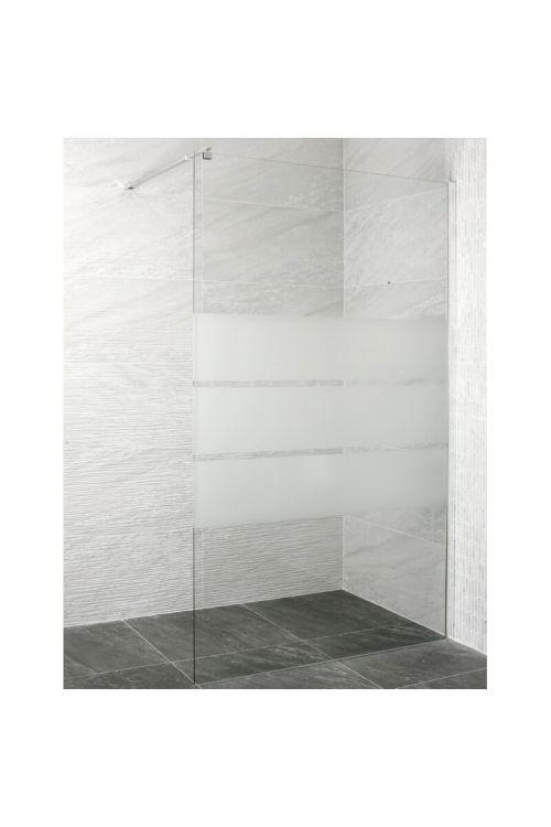 Tuš stena Vetro Linea (110 x 200 cm, steklo: 8 mm, z nosilcem 70-120 cm)